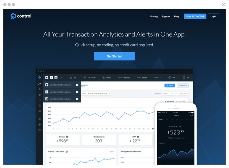 Control Best Stripe Analytics Software