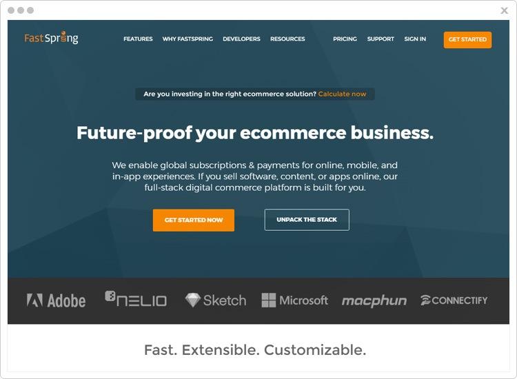 FastSpring subscription management software