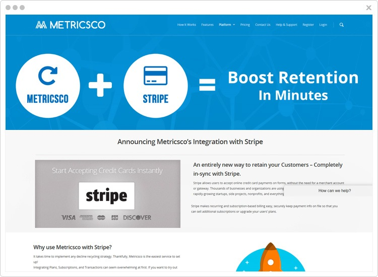 Metricsco Best Stripe Analytics Software