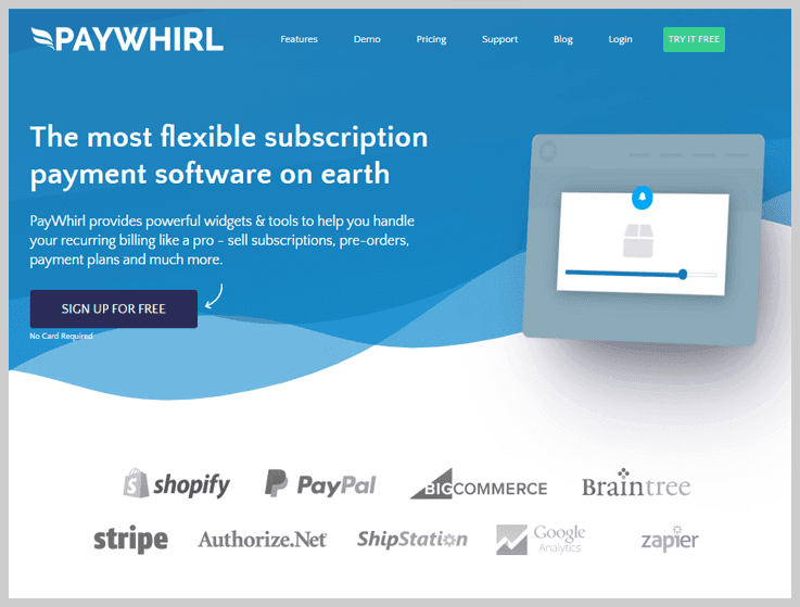 PayWhirl - Best Subscription Management Software