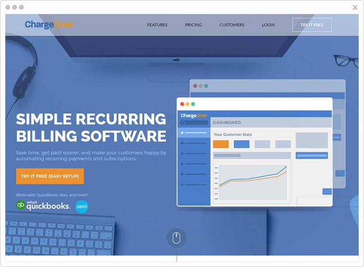 chargeover subscription management software