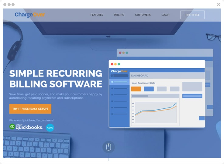 ChargeOver Best SaaS Billing Software
