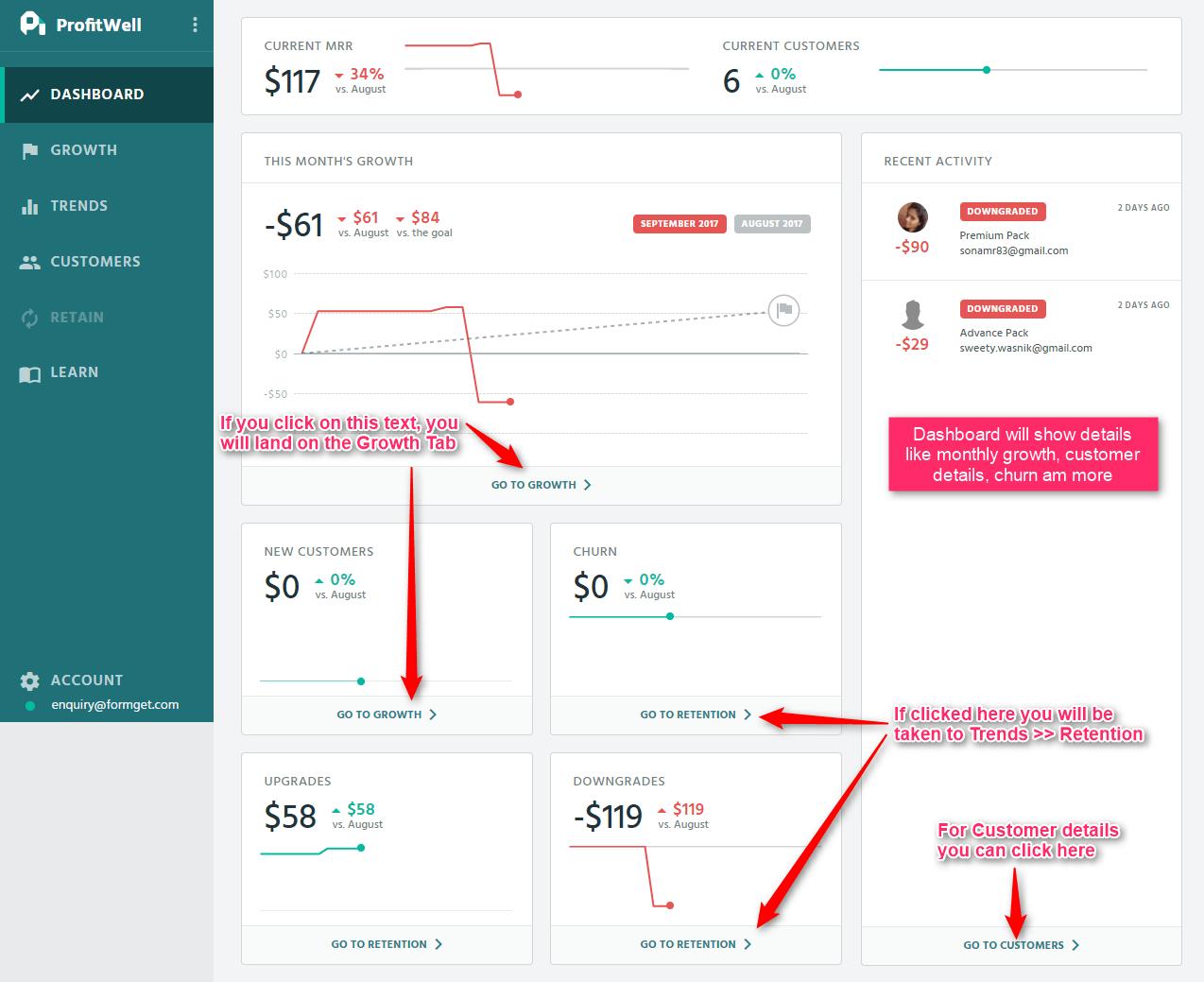 ProfitWell Documentation