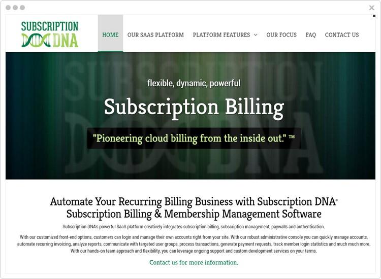 Subscription-DNA Best SaaS Billing Software