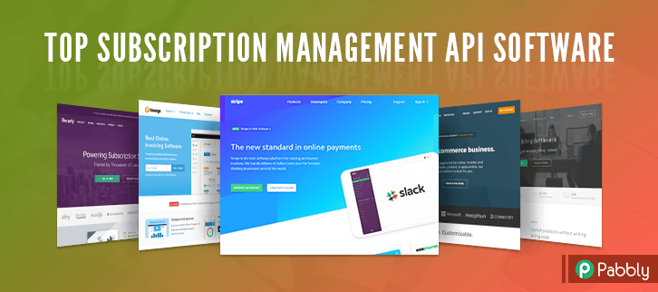 Top Subscription Management API Software