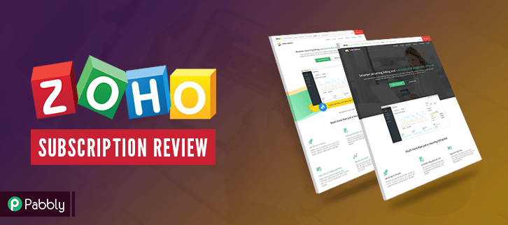 Zoho Subscription Feature Image