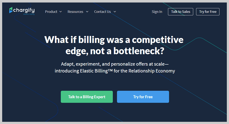 Chargify Top Recurring Billing API Software