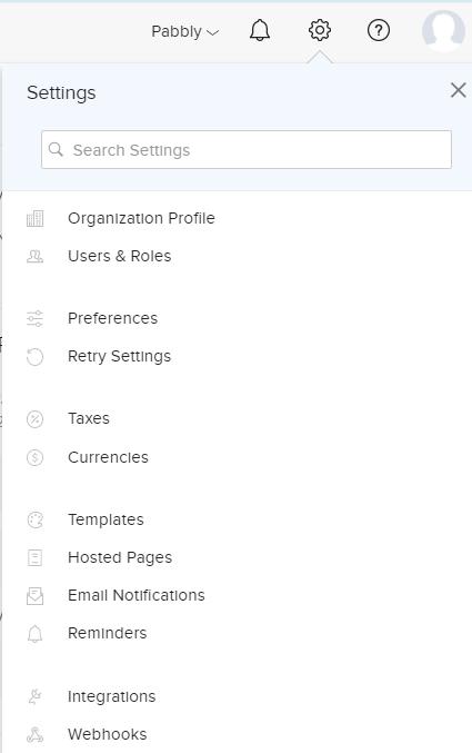 zoho-settings