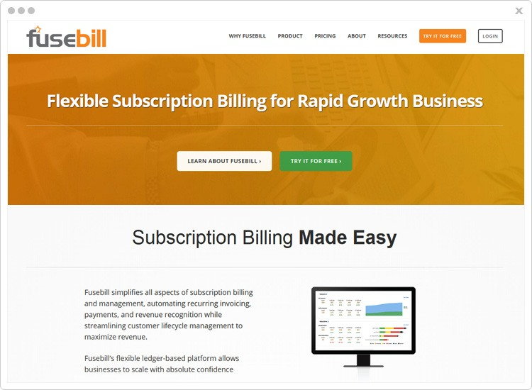 Fusebill - Top Revenue Management Software
