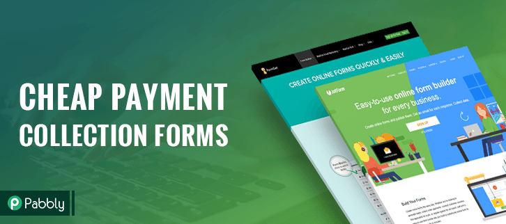 Cheap Payment Collection Forms – Integrate Stripe & PayPal Payment Gateways