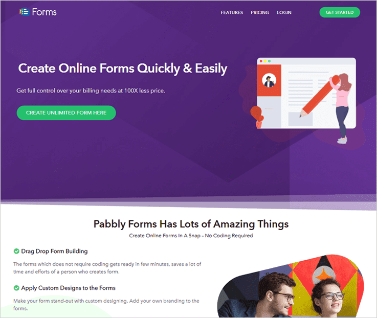Web Form Builders by Pabbly Forms