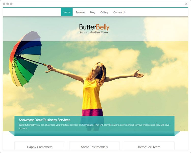 Butterelly - Business WP themes