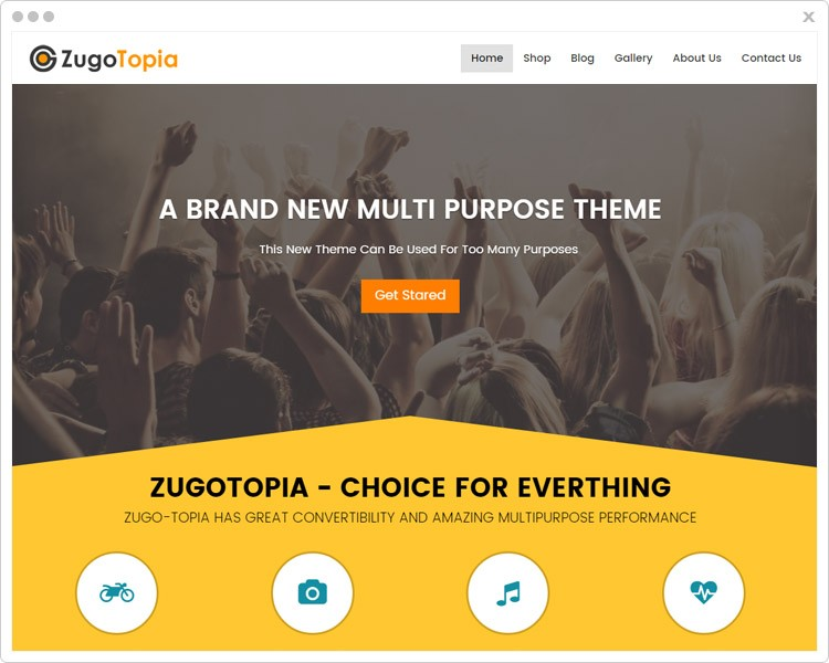 Zugotopia- Multipurpose WP Theme