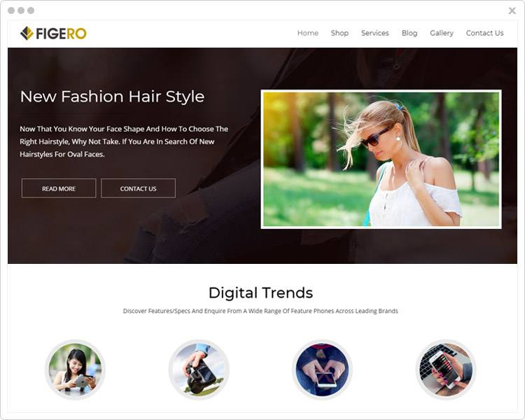 Figero - Responsive WordPress Theme