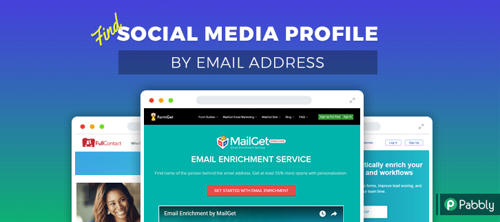 Find Social Media Profiles By Email Address