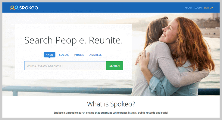 Spokeo Social Media Search Engine