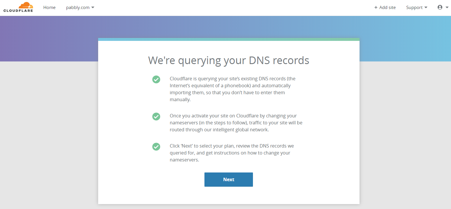 Querying DNS Records - SSL Custom Domain