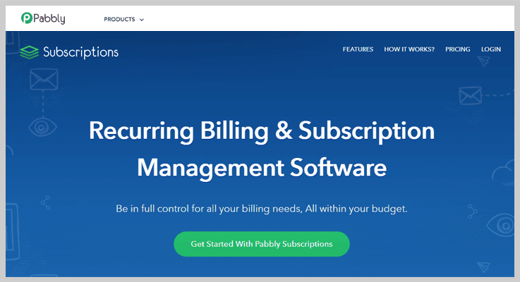 Cheap Subscription Billing Software by Pabbly Subscriptions