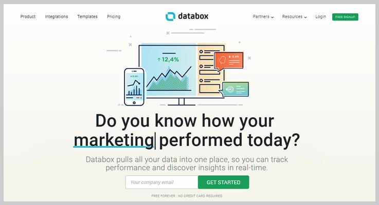Databox MRR & Churn Tracking Tool