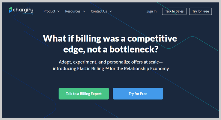 Cheap Subscription Billing Software by Chargify