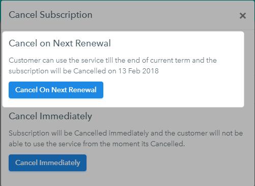 Non Renewing