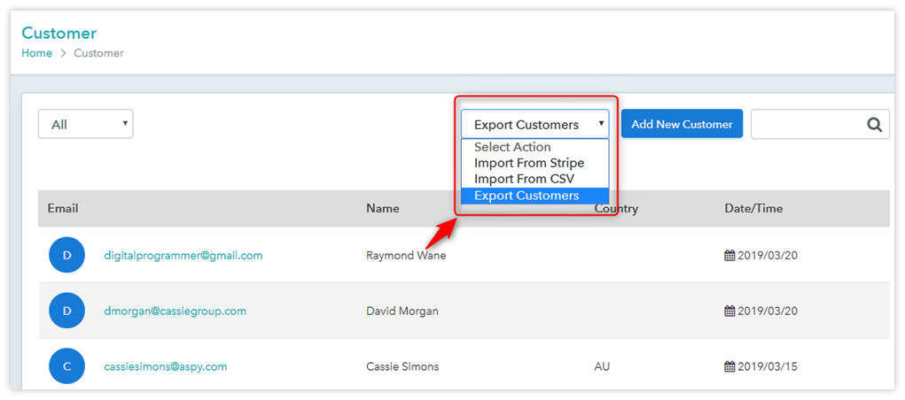 Pabbly Subscriptions Customer Import And Export