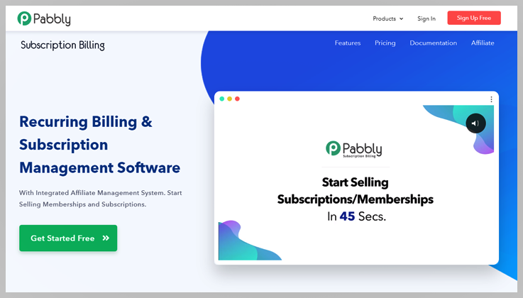 Pabbly subscription billing - Zuora alternatives