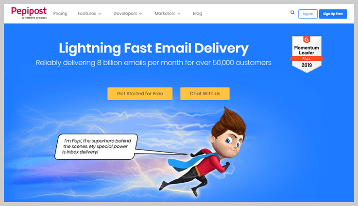 Pepipost - Paid Email Service Providers