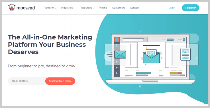 Moosend - Cheap Email Marketing Services