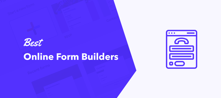 5 Best Online Form Builders