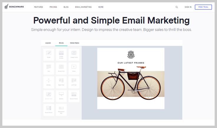Benchmark Email - TurboSMTP Alternatives