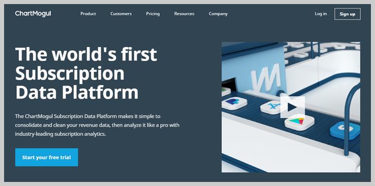 ChartMogul - Recurring Data Platform