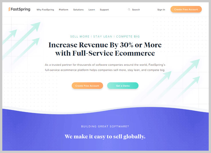 FastSpring - A Simple Recurring Billing Software