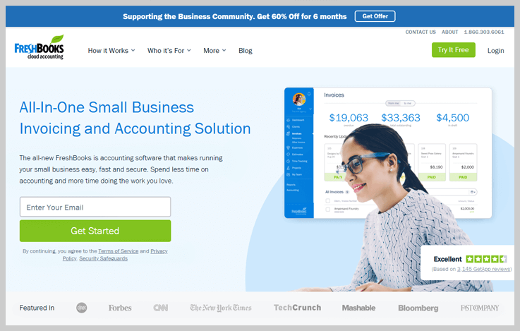 FreshBooks - A Bundle Of Billing Software