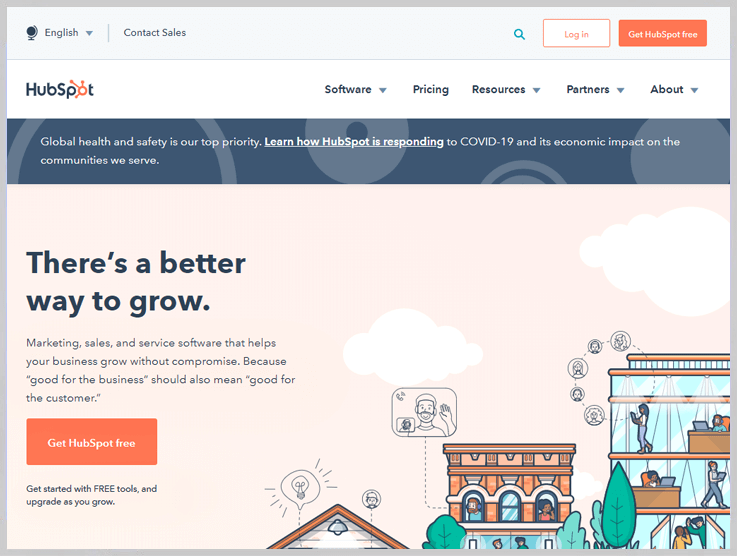 HubSpot - A Complete CRM Package