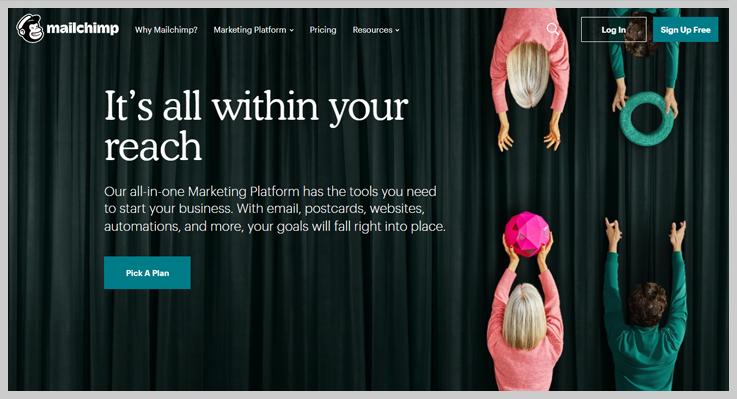 Mailchimp - Bulk Mail Marketing Service