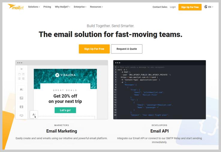 MailJet - A Versatile SMT2GO Alternative
