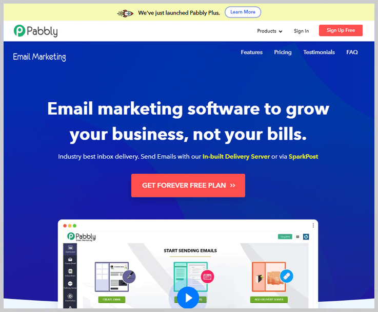 Pabbly Email Marketing - The Best Sendy Alternative In Email Marketing