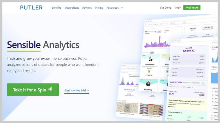 Putler - Analytics Tool