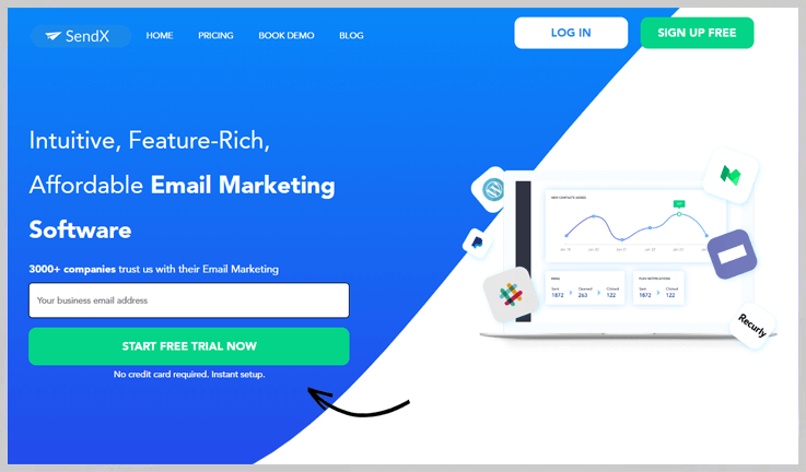 SendX - Email Marketing With An Edge