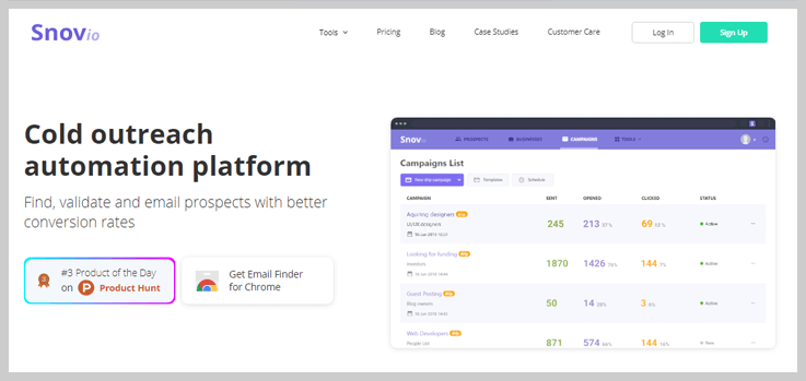 Snovio Email List Cleaning Service