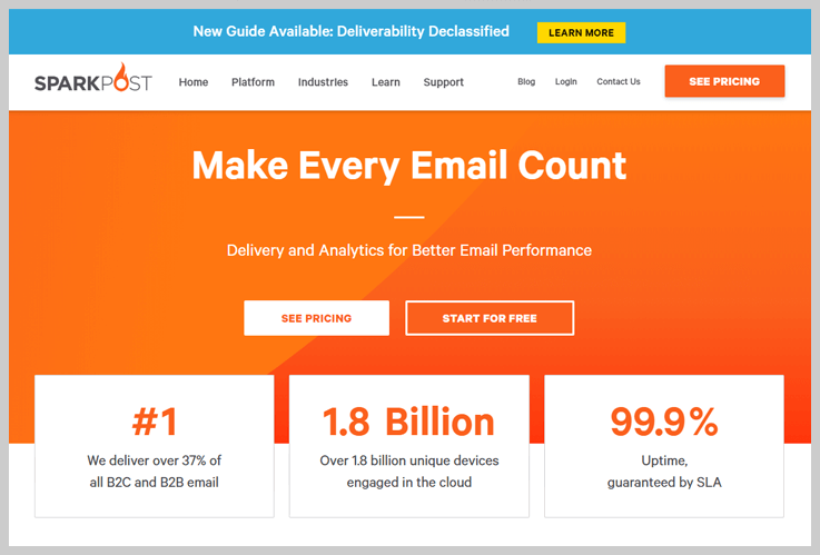 SparkPost - Give A Spark To Your Email Marketing