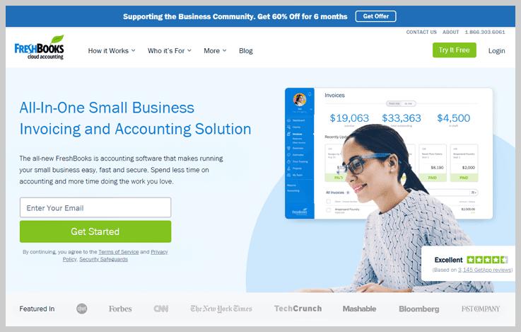 FreshBooks - Recurring Billing Software