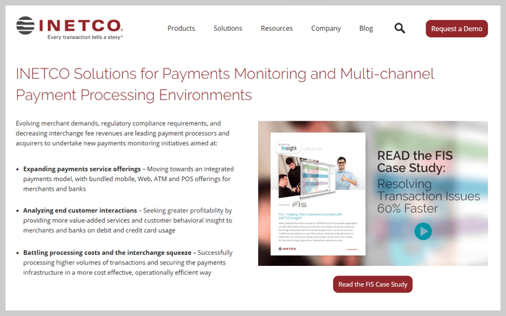 Inteco - Payment Tracking With An Edge