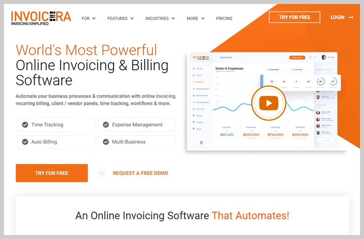 invoicera-recurring-billing-software