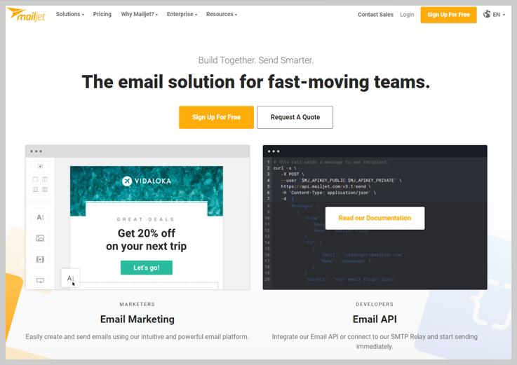 Mailjet - Bulk Email Marketing Software