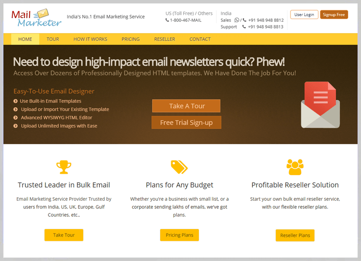 Mail Marketer - Mass Email Marketing Service Provider