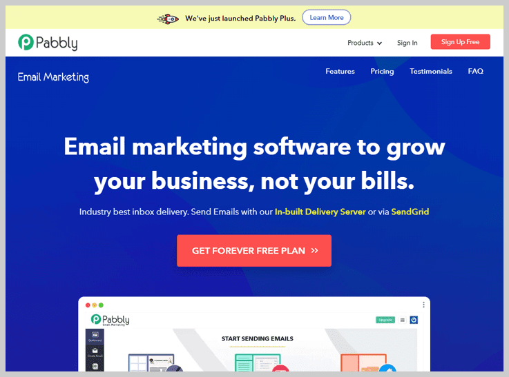 Pabbly Email Marketing - Best Drip Email Marketing Software