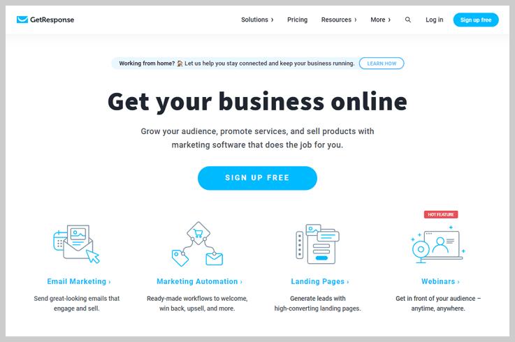 GetResponse - Email Marketing Tools