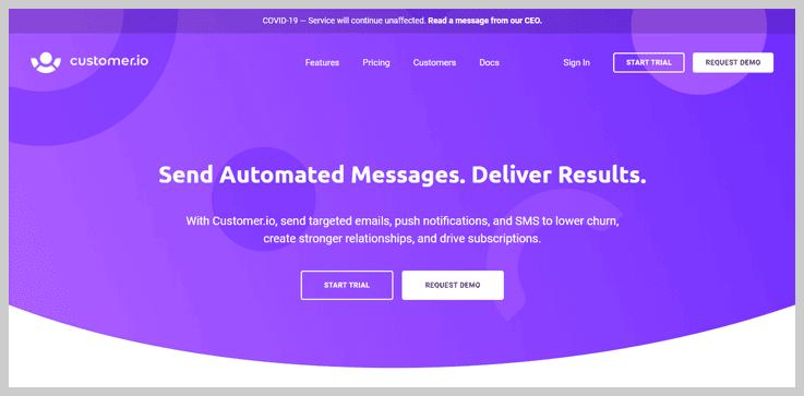 Customer.io - Campaign Organiser